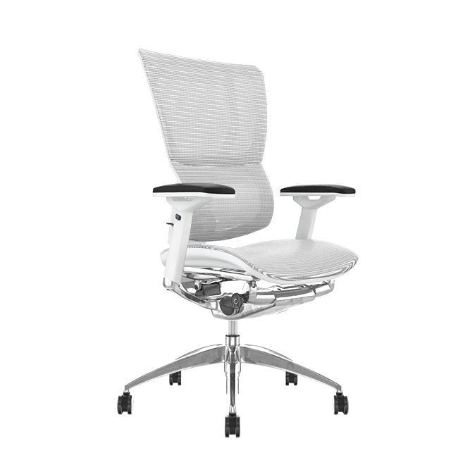 Mirus White Mesh, White Frame Office Chair